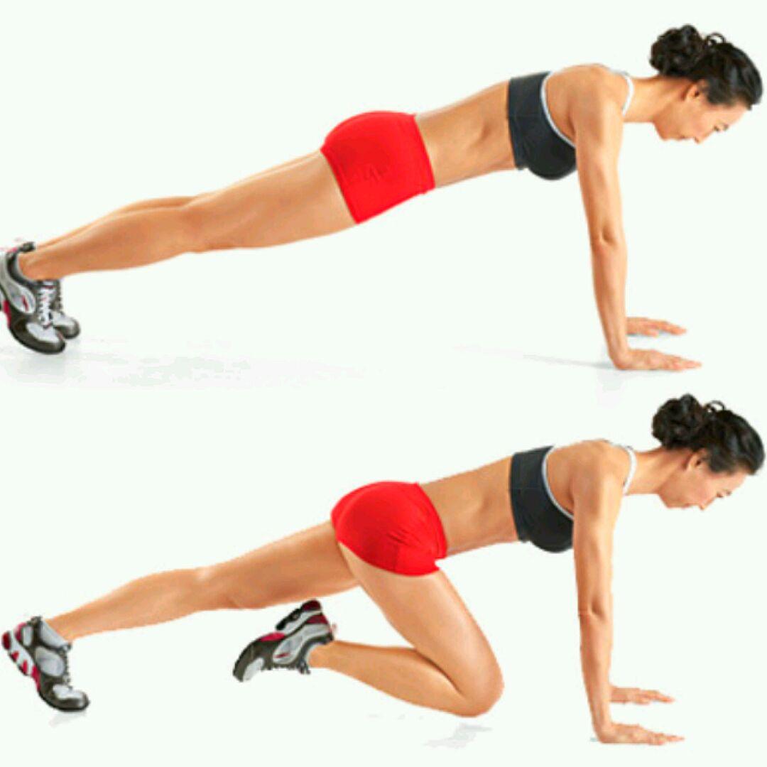Упражнения на сжигание жира на животе. Программа 88