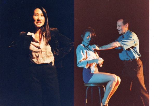 Scenes from a play I directed and acted in 1999. It was called How I Learnt to Drive, about a woman who was sexually groomed and assaulted by her uncle as a child. Photographer: Ung Ruey Loon
