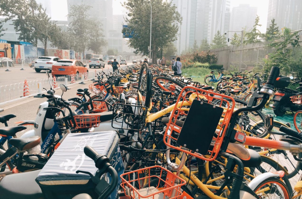 Beijing is pretty much made of chaos. And I remember how alkjdfkadgfucking hot that day was when I took this picture because I could smell all the metal and rubber.