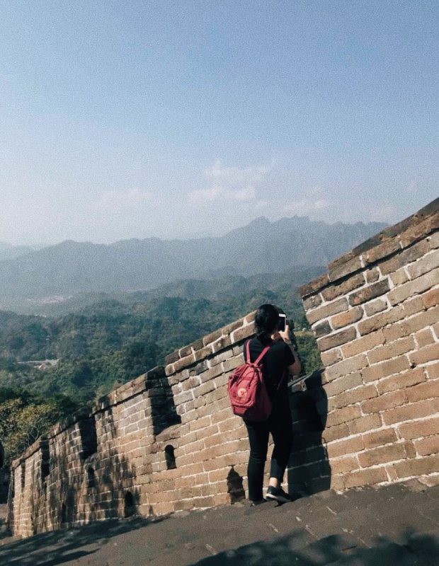 I've climbed the Great Wall THRICE OMFG.