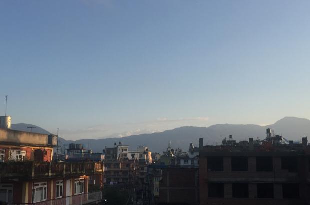 A snapshot of Kathmandu, Nepal.