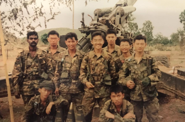 When I was 19, at a training exercise in Thailand.