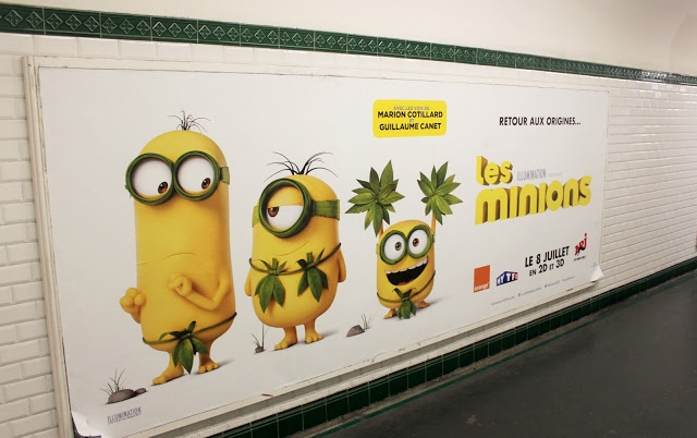 Minions in Paris…