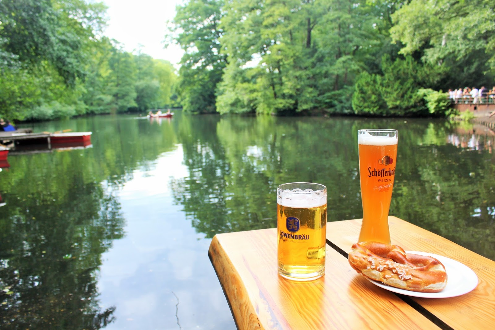 Beer and pretzels in Berlin…. But no clubs.