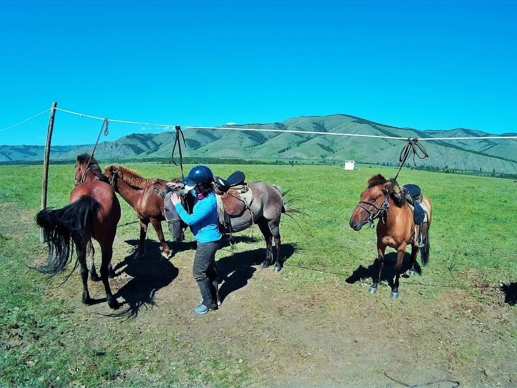 Horse-riding in the Jalman Meadows.