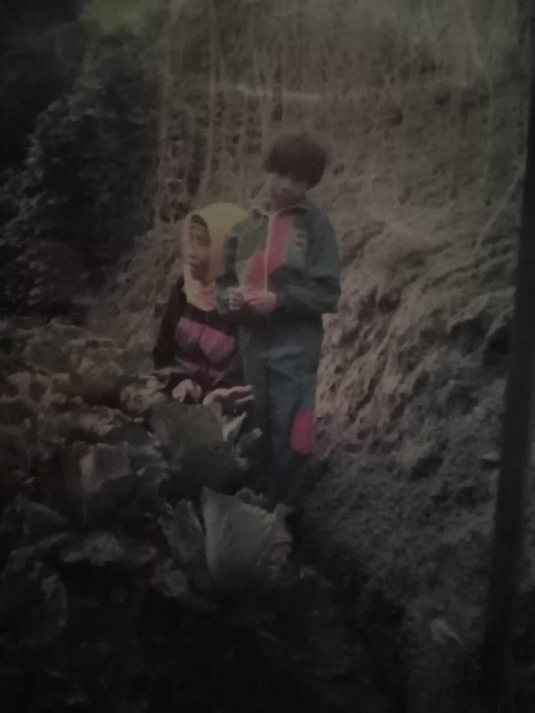 My mother and I were in Cameron Highlands where we lived for a part of my childhood.