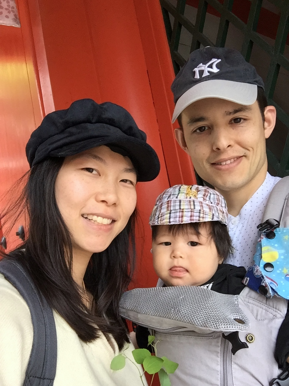 Our son K was born in Haifa, and we now live in Otsu as a family. Currently, we're expecting our second child.