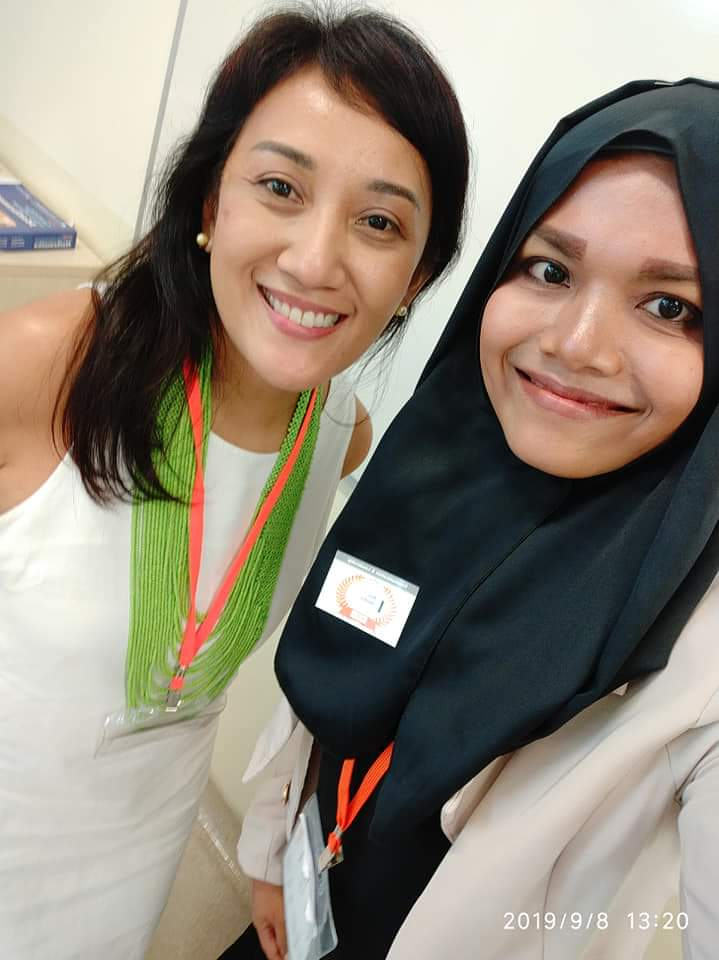 Siti credits her mentor for the Leadership module, Ms Liza Baccay, for her guidance.