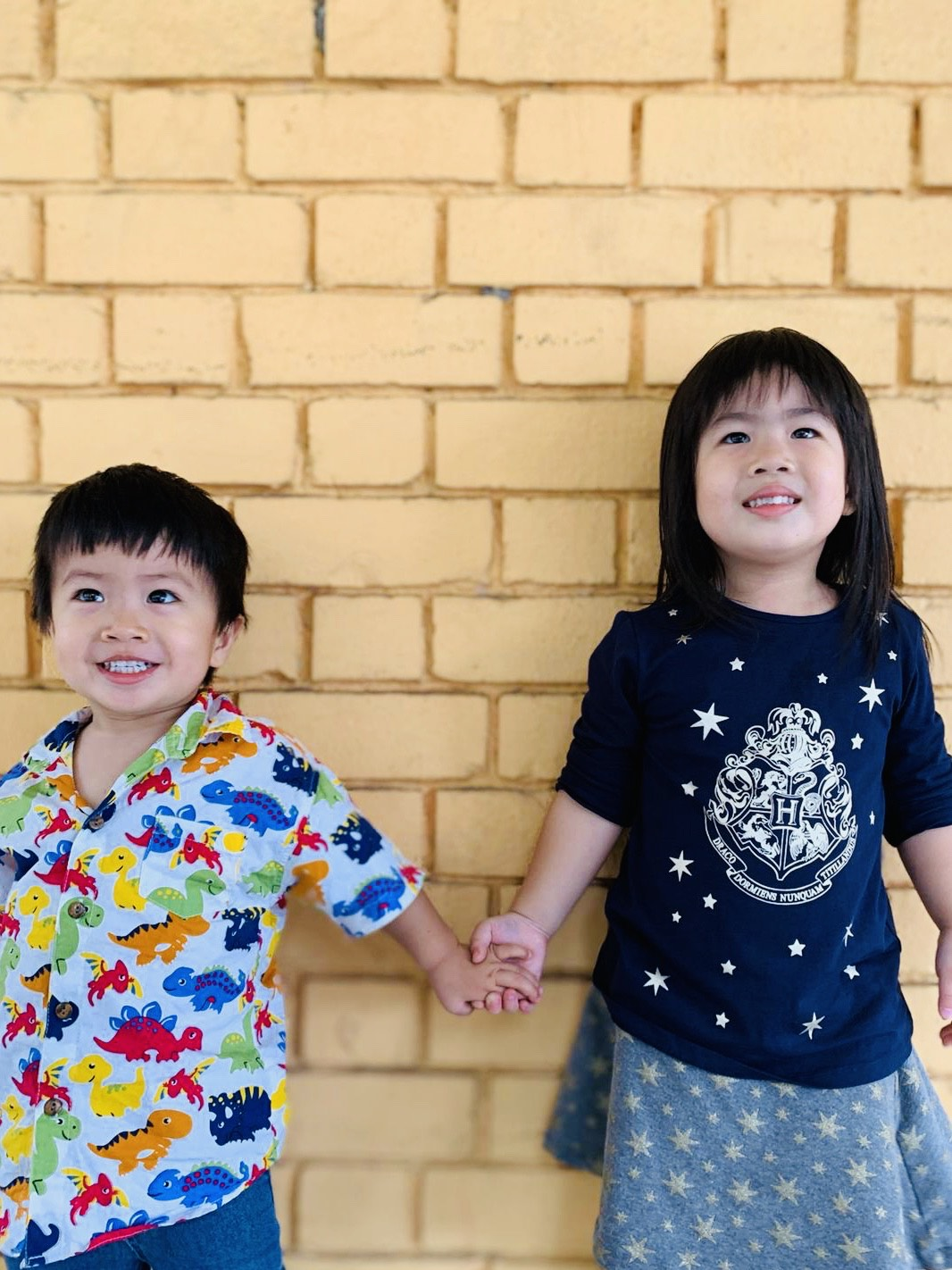 My beautiful children: Isaac, 2, and Valerie, 4.