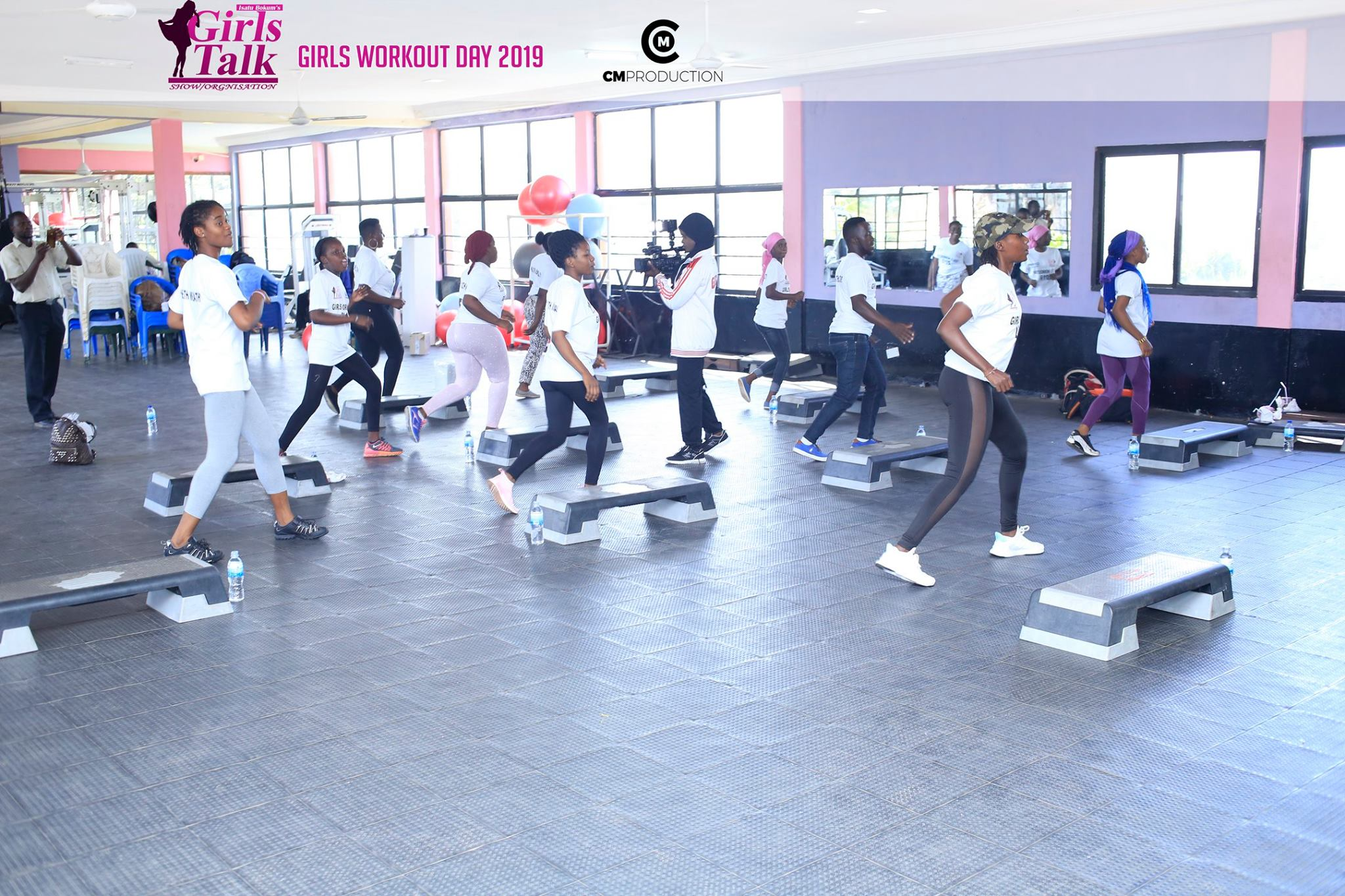 In 2019, we organised a Girls Workout Day, to break the myth that women only went to the gym to look for partners. We had an amazing trainer who taught the girls basic fitness strategies that they could do at home. There were only 15 women that first year, but it tripled to 50 by the next year.