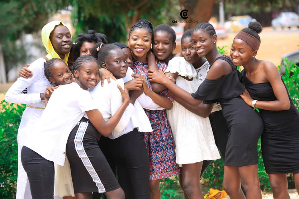 On my 22nd birthday in 2019, I took the girls in our mentorship programme on a lunch date.