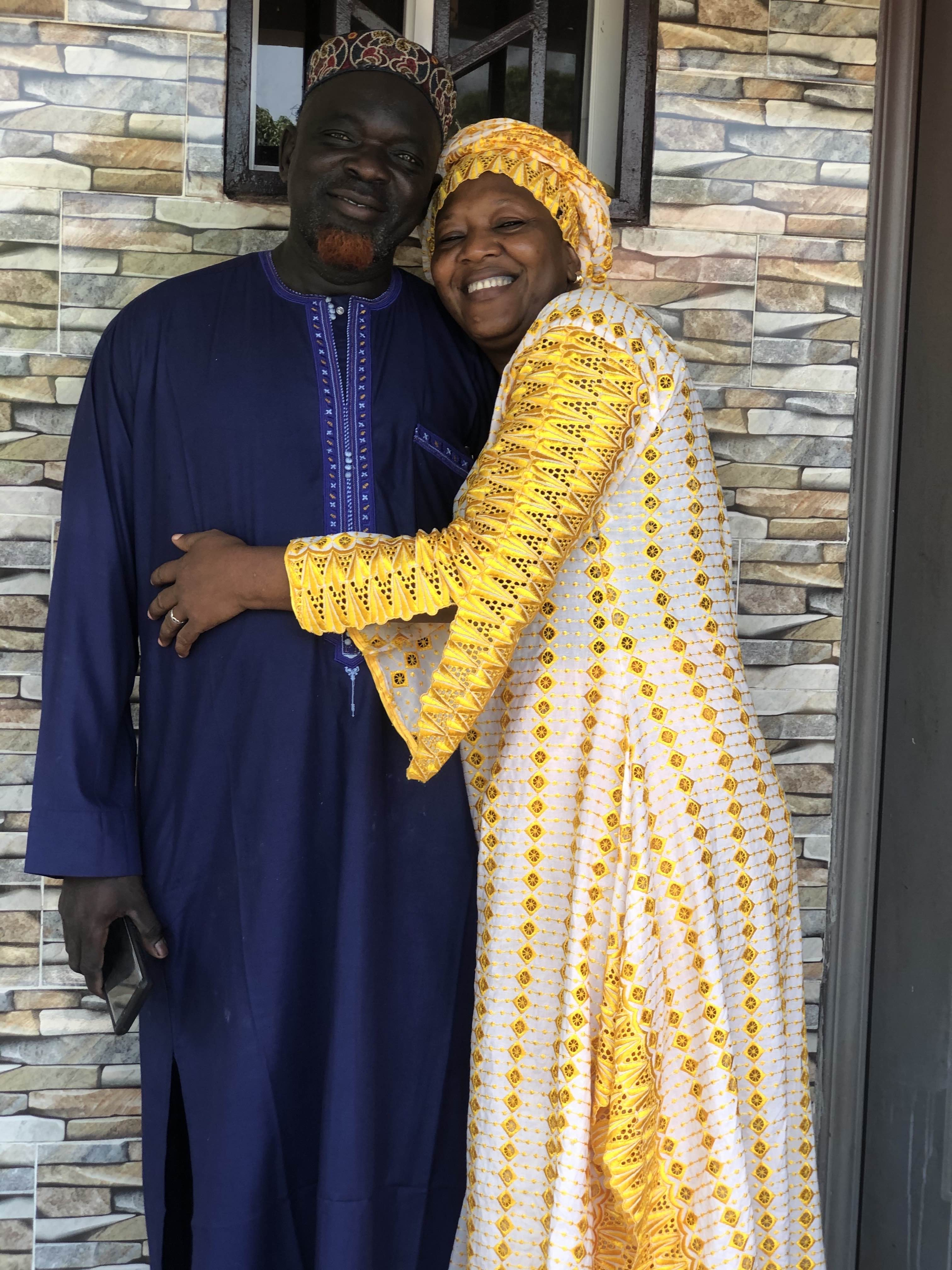 A recent photo of my parents at home.
