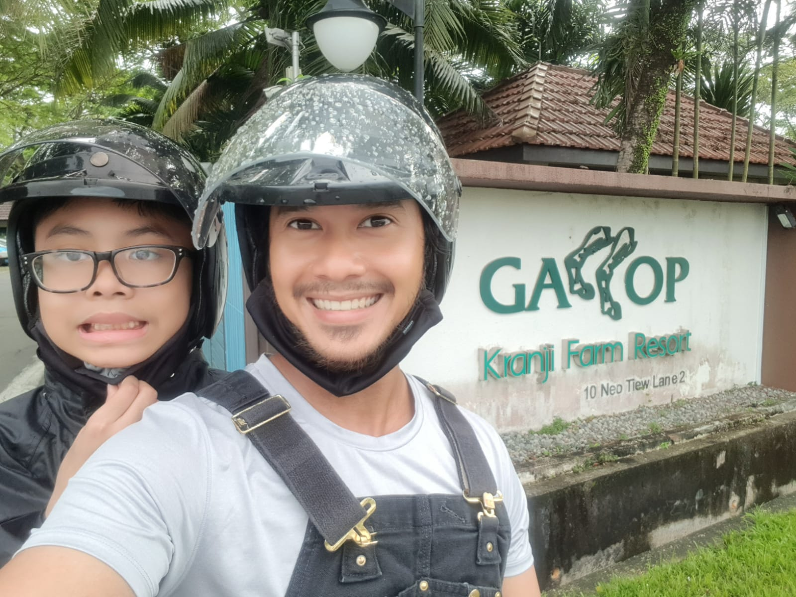 To help Aniq escape his negative feelings, my husband brings him out to explore Singapore by motorbike, as a reward for good behaviour. It's something they both look forward to every month.