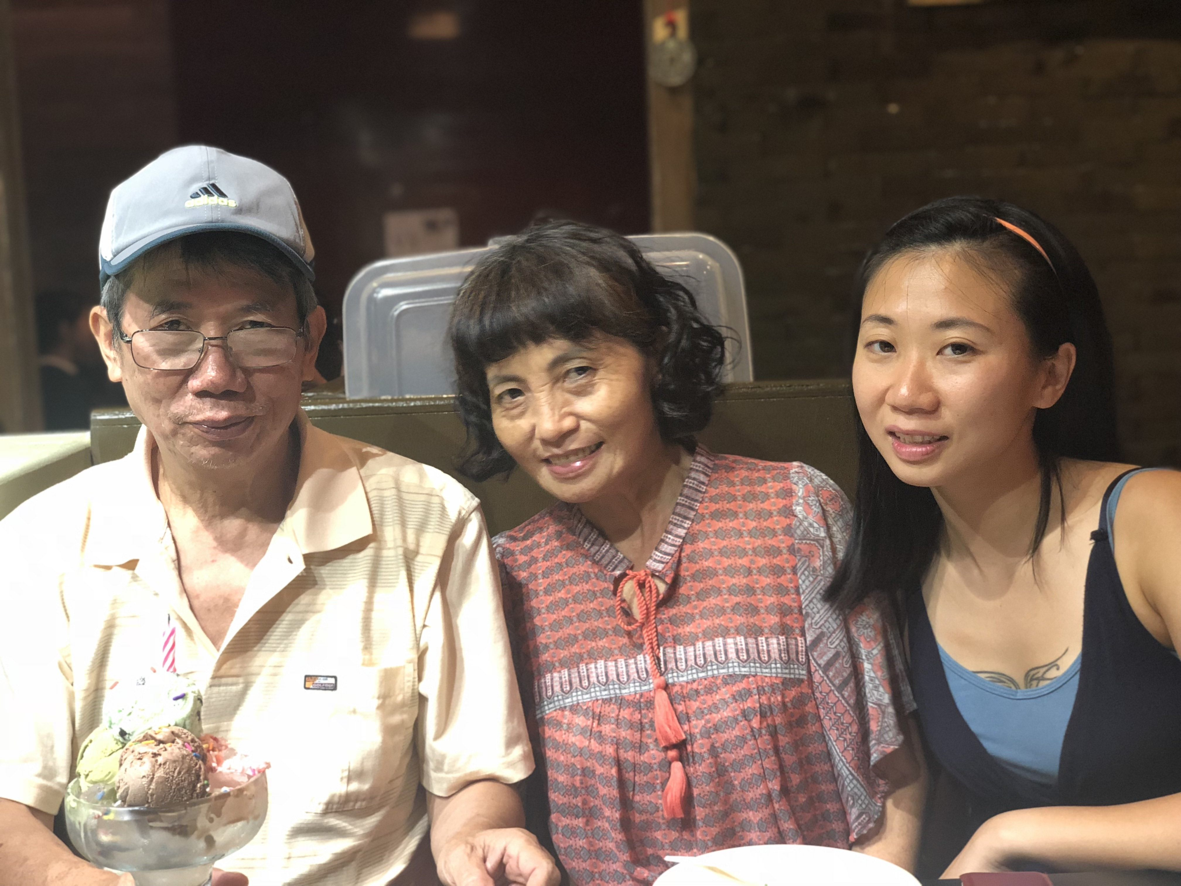 Now that I'm older, I've come to realise that my parents are some of the only people in my life who would support and provide me with unconditional love. I've been through breakups and seen friends come and go — there were times when I felt so lonely, but my parents have been with me through the ups and downs.