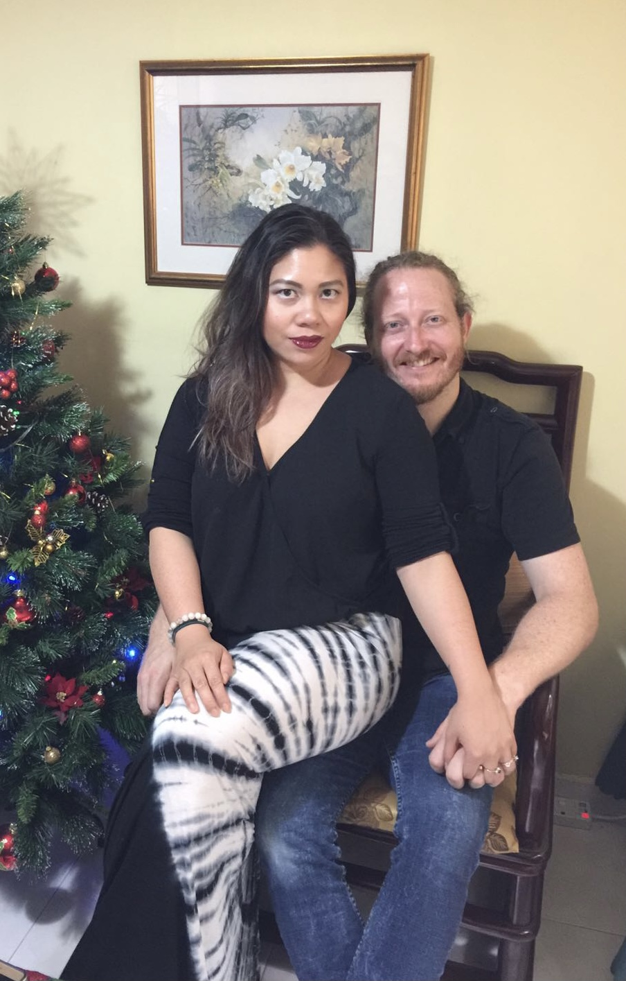 My husband and I have been together since we were 19.