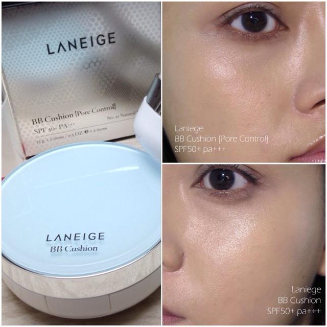 Laneige Bb Cushion Pore Control Powder Foundations Makeupbox