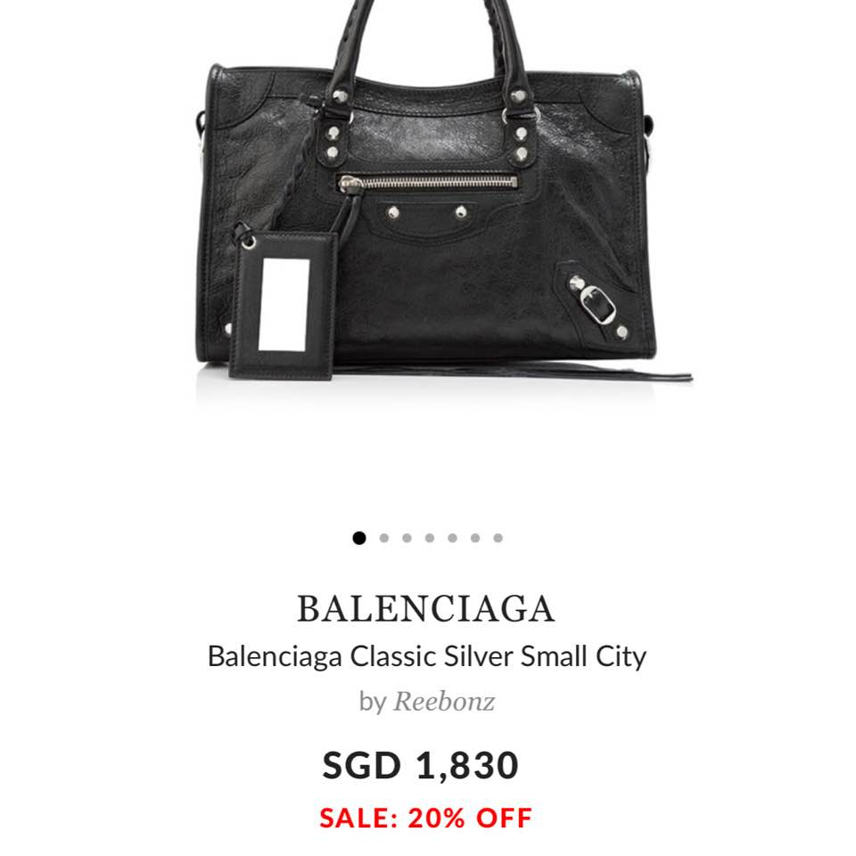 9b709446a9 The exact bag I purchased. I noticed that right after I bought it in  person
