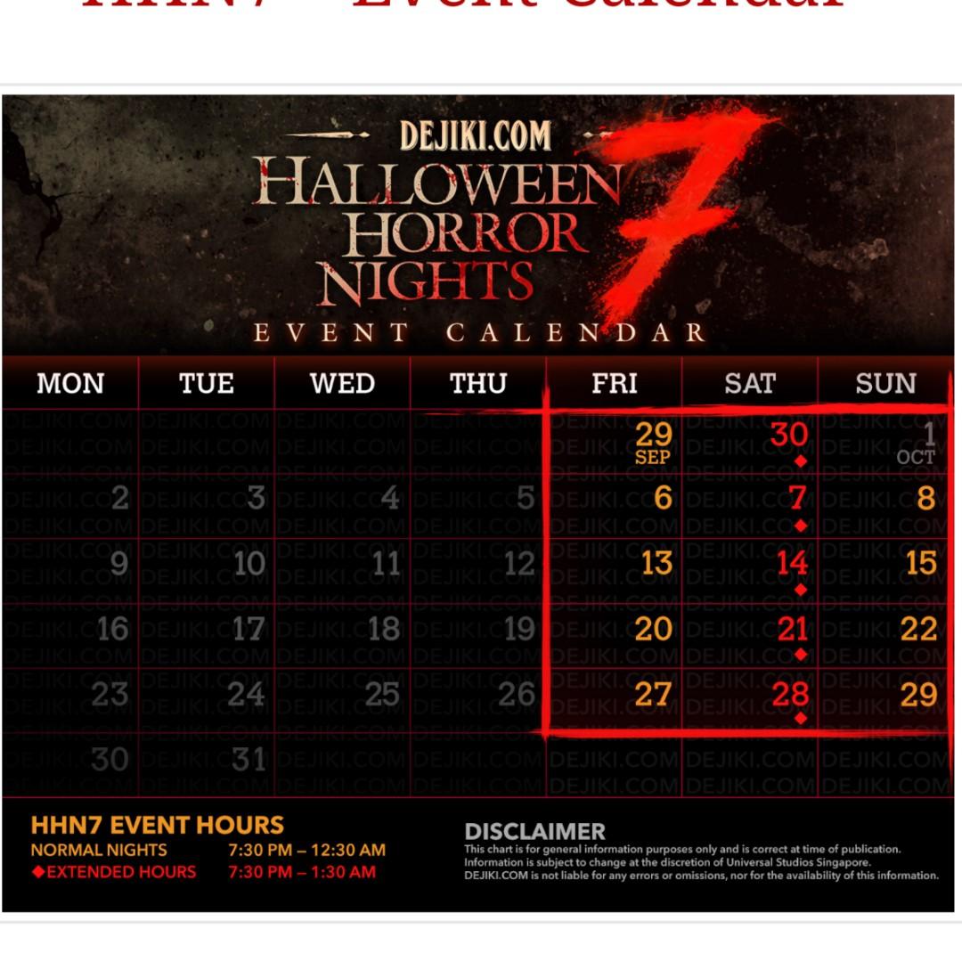 Halloween horror nights - sheriru3 - Dayre
