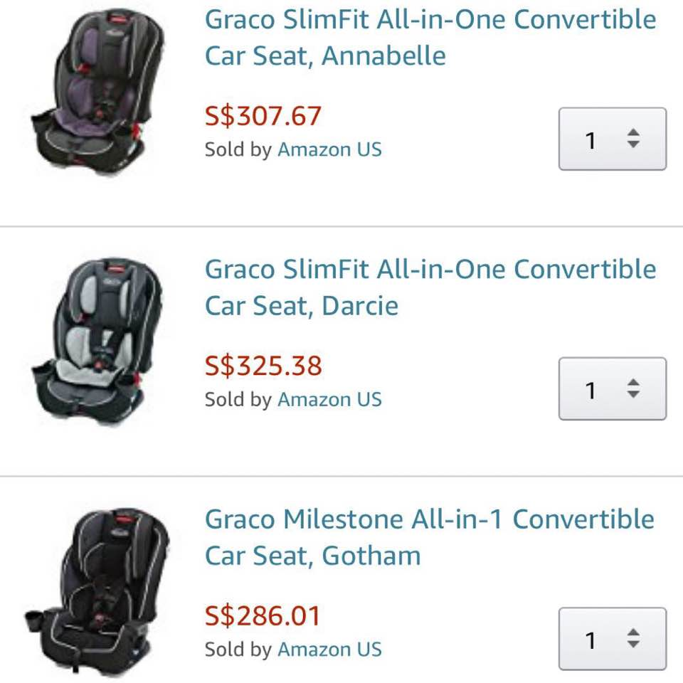 Went On Amazon Prime Now And Added These 3 To Cart Cos I Could Not Decide What Get Been Researching About Convertible Car Seats
