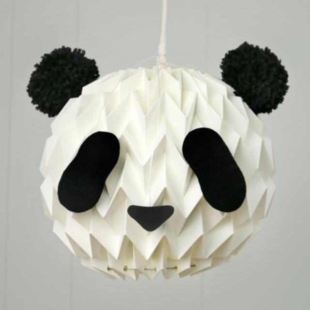 Wjkhome The Panda Lamp Shade Tofulove Dayre