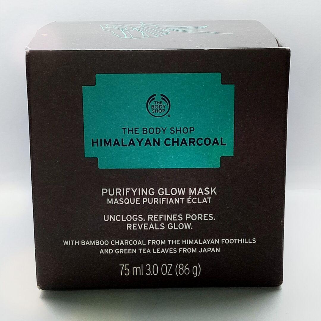 body shop himalayan charcoal mask review