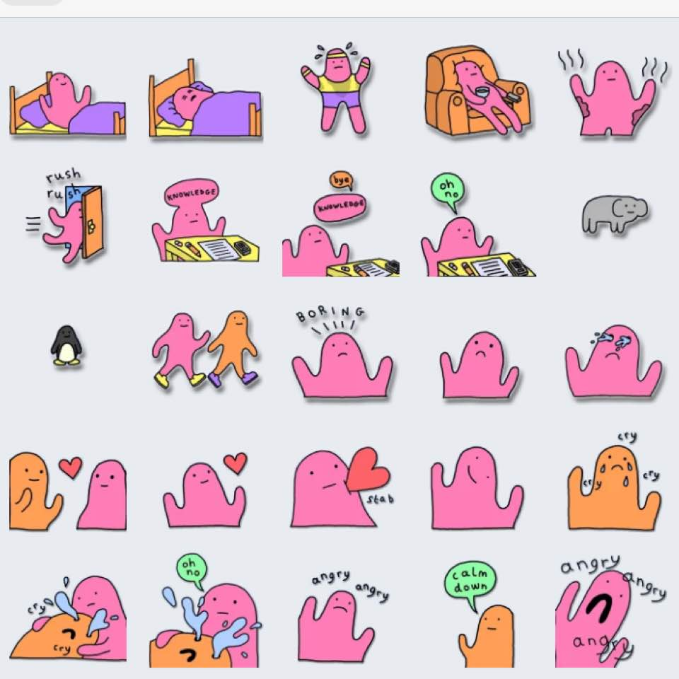 sticker telegram download love