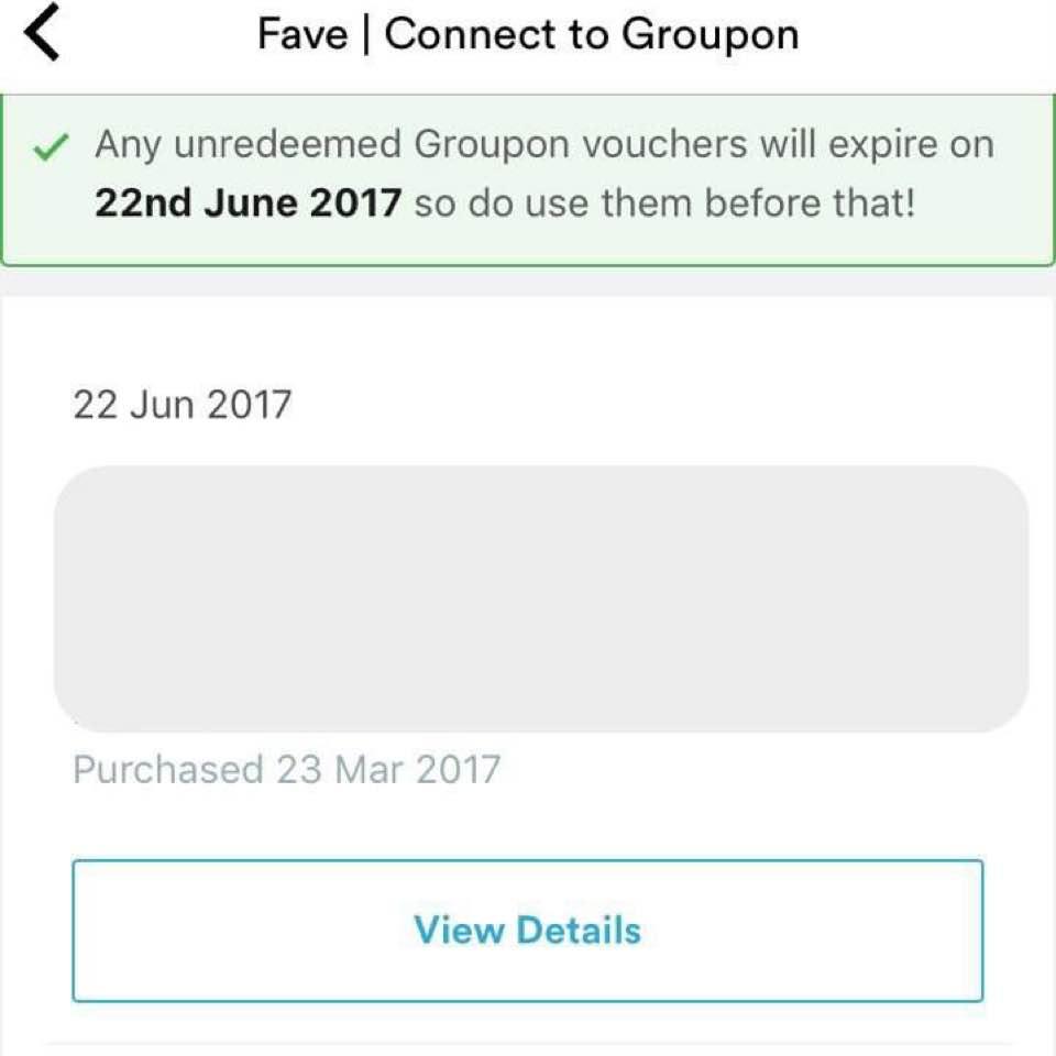 CAUTION: Groupon vouchers expires 22 June 2017 - ESTELLA - Dayre