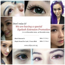 a0de75e5c78 Don't miss our Special Eyelash Extension Promotion exclusively for you!  Location: Milly's @ Bugis Cube #02-12 (Opposite Bugis Junction Taxi  Stand,Toast ...