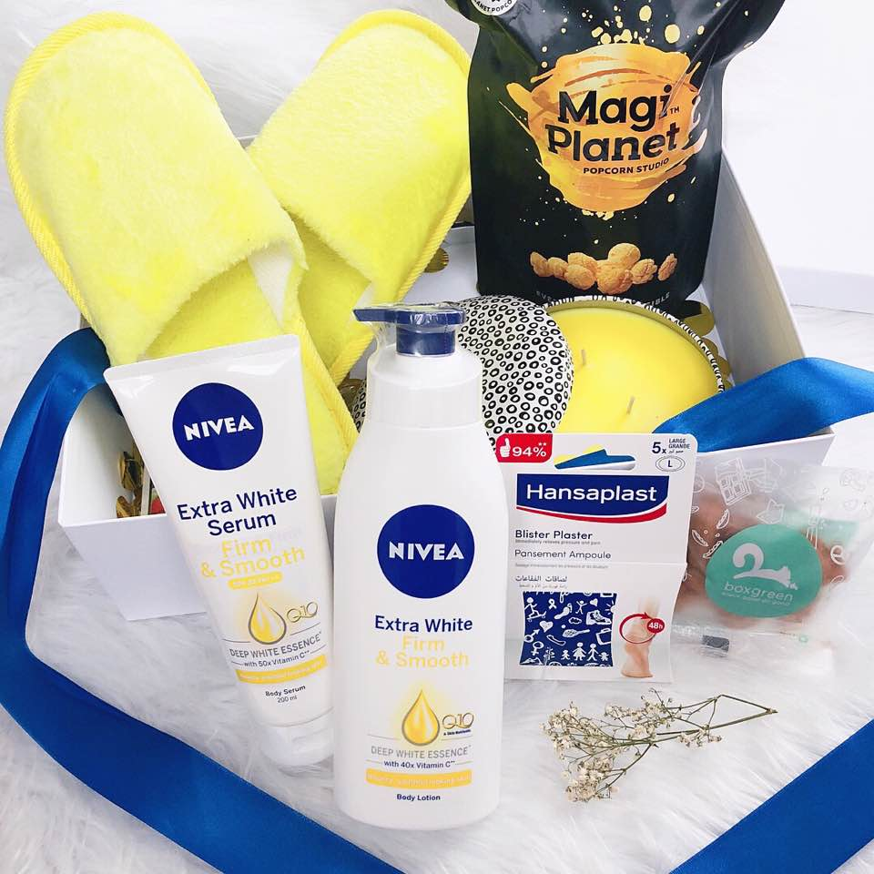 Nivea Giveaway Kaitinghearts Dayre Body Lotion Extra White Firm Smooth 200ml The Items In Set