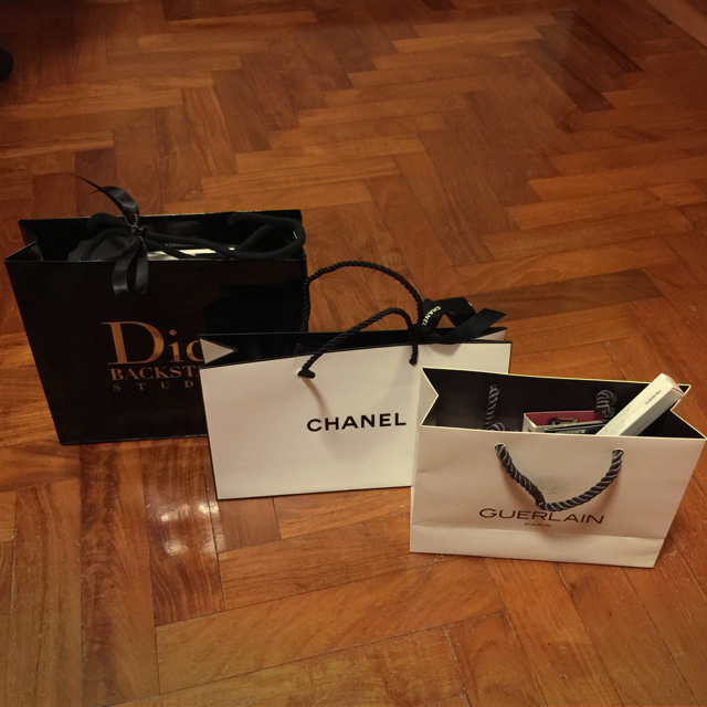 My Recent Splurge At Tangs And Dior Boutique As A Birthday Gift To Myself Lol Only Can Afford Chanel Makeup Actually Really Burnt Big