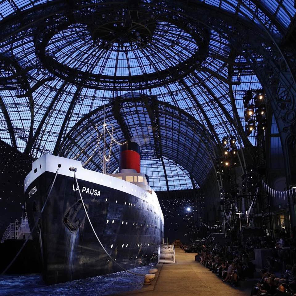 7e93551a19477 Chanel cruise collection show 2019 is already up! Seriously it must be a  mad rush to prep for every collection and their show sets remind me of  movie sets.