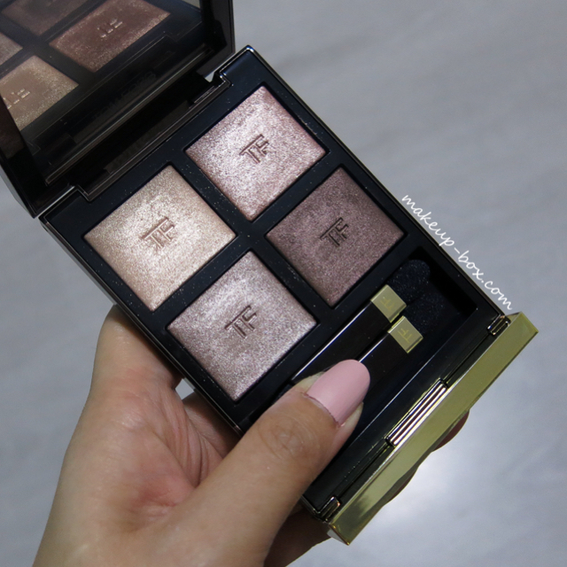makeup ford haze tom magpie quad photos orchid eyeshadow swatches
