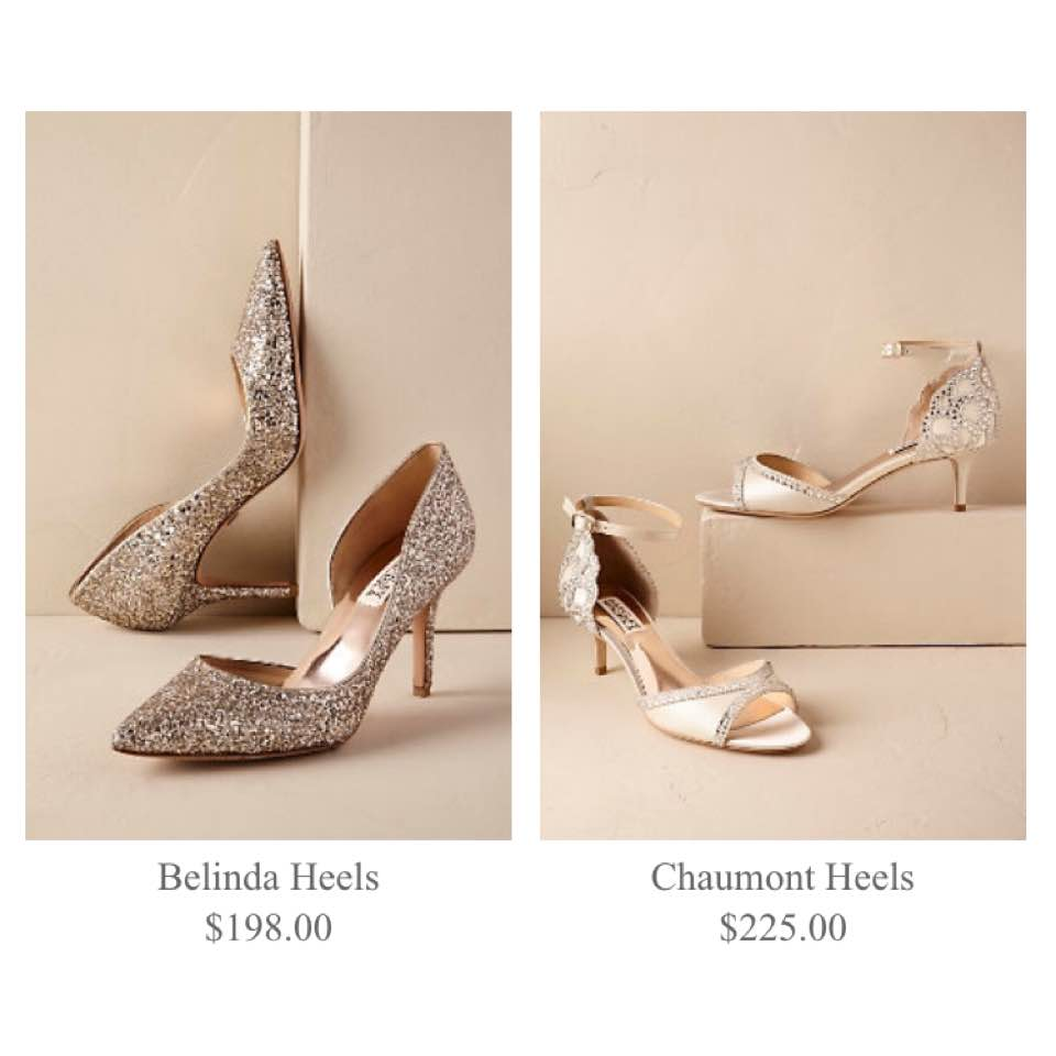 They Have A Wide Variety Of Wedding Shoes Though There Are Sandals Flats Heels Pumps Etc