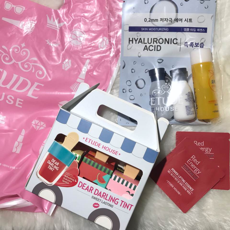 Eh Dear Darling Water Gel Tint June Monthly Vee Log Etude House Ice Cream Stuff I Got From On Saturday Like Mentioned Usually Dont Get There Stores As Them Korea Or Online