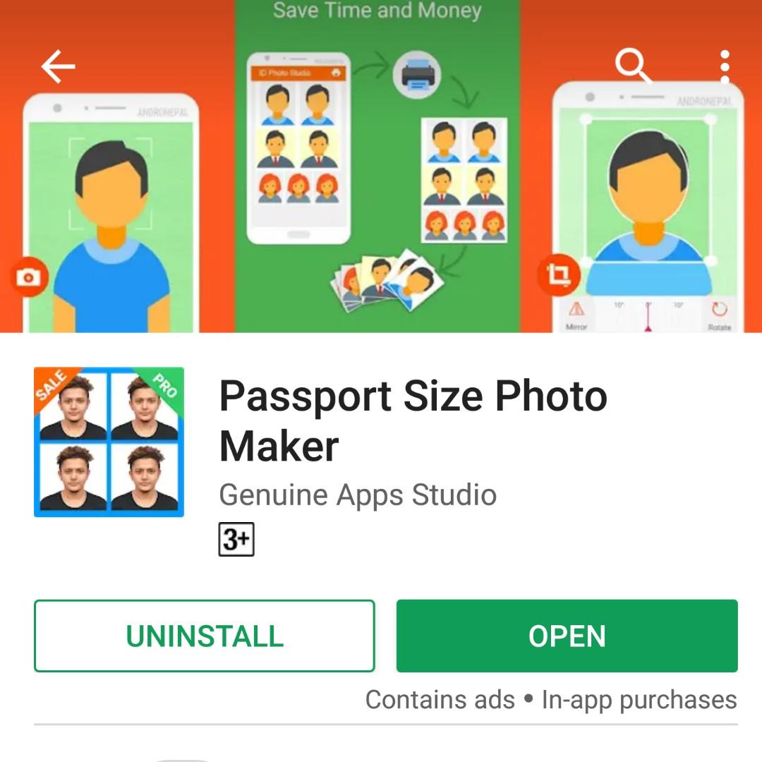 Passport photo - FOC - fluffyhacks - Dayre