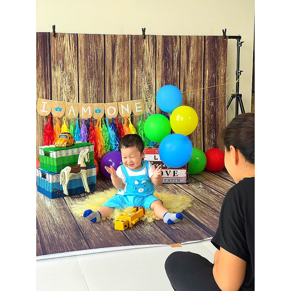 Today Is Indeed A Good Day Because Troy Boy Was In Super Mood For His One Year Old Photoshoot