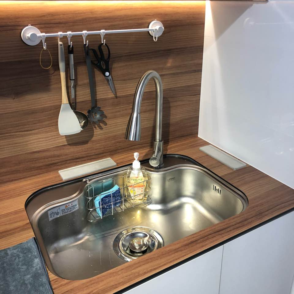 My 740mm wide lizens sink