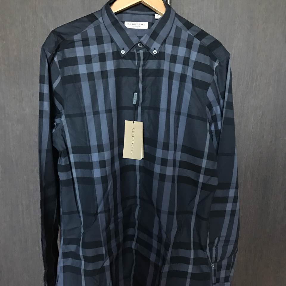 Authentic Men Burberry Shirt Xl For Sale Mumto3js Dayre