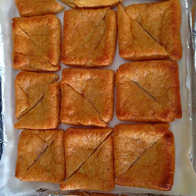 Stuffed Tofu Puff Recipe Coasterkitchen Dayre