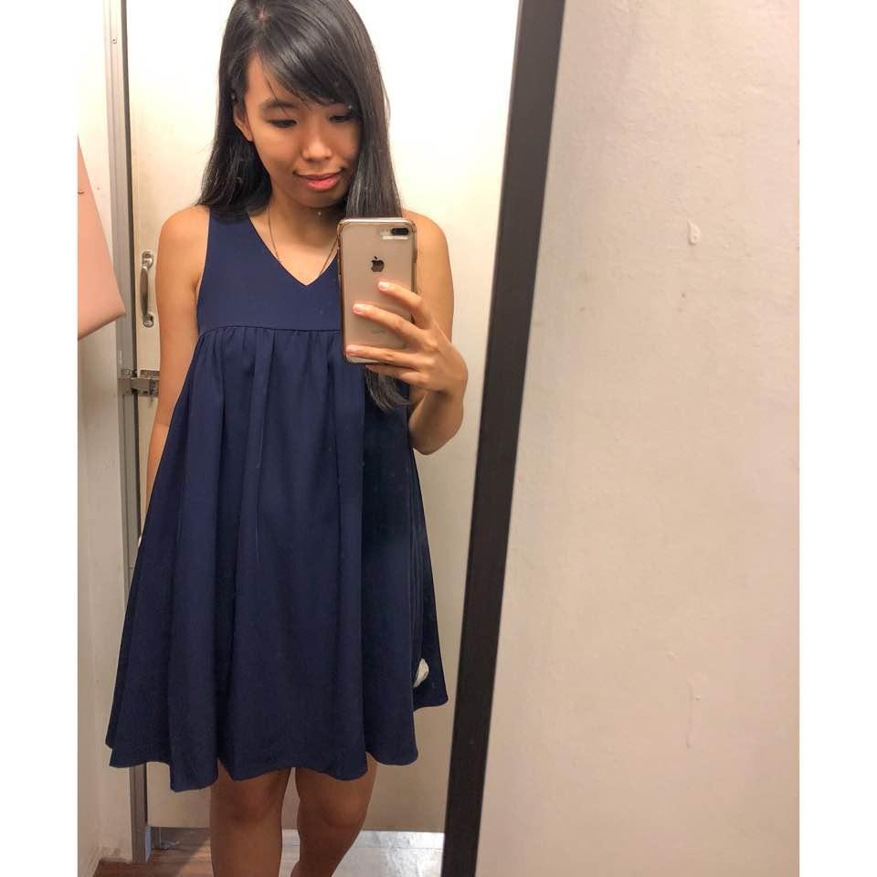5d857c977970 #Hollyhoque Vee Babydoll Dress, S.