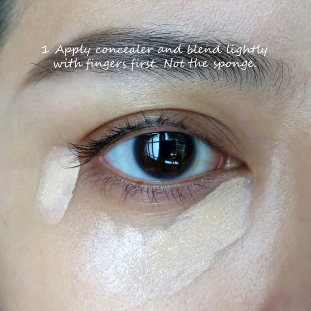 how to stop your concealer creasing