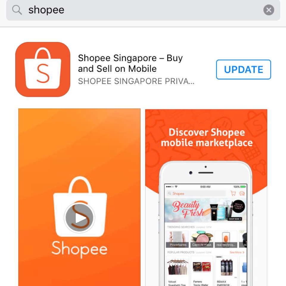 Shopee Shopping and LB - whitechoco - Dayre