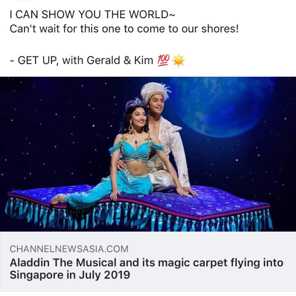 Aladdin The Musical 🔮/Tiger Sugar BBT 🐯/Christmas