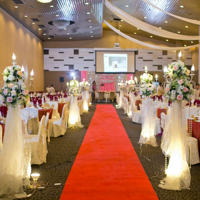 Throwback our wedding wedding vendor list lindatan878 dayre my hometown wedding dinner venue decoration its in grand alora hotel junglespirit Image collections