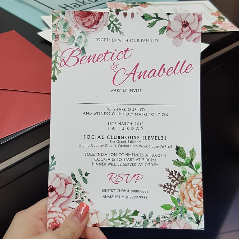 Wedding Updatesss! (Long Post) 102days more...👰 - dodidodidoh - Dayre