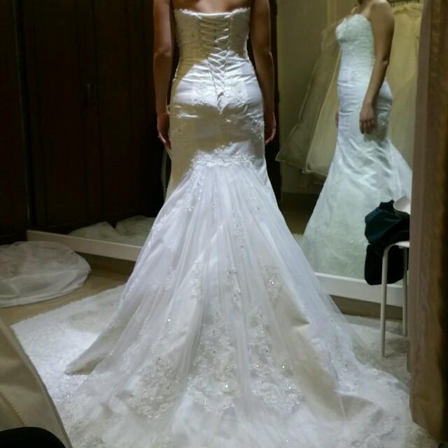 3rd gown choosing at bridal affairs! - hahaheehee - Dayre