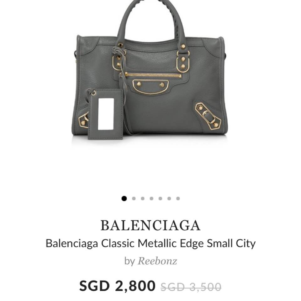 eb5552c39b Just visited Balenciaga store at MBS. This small size is retailing at   3600+..reebonz at  2800! Maybe i shouldnt buy it cos i m eyeing on chanel  coco handle ...