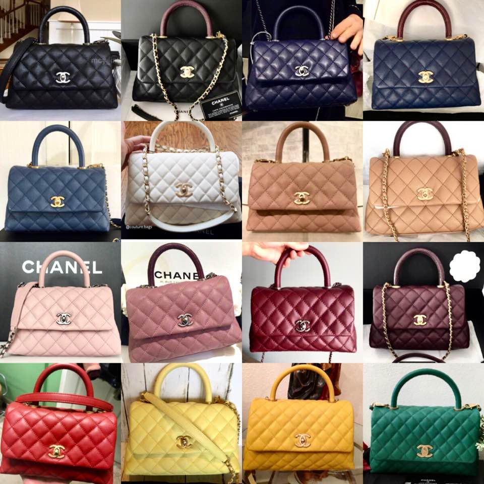 23051cd70ae026 Chanel Coco Handle collages - mintyvintage - Dayre