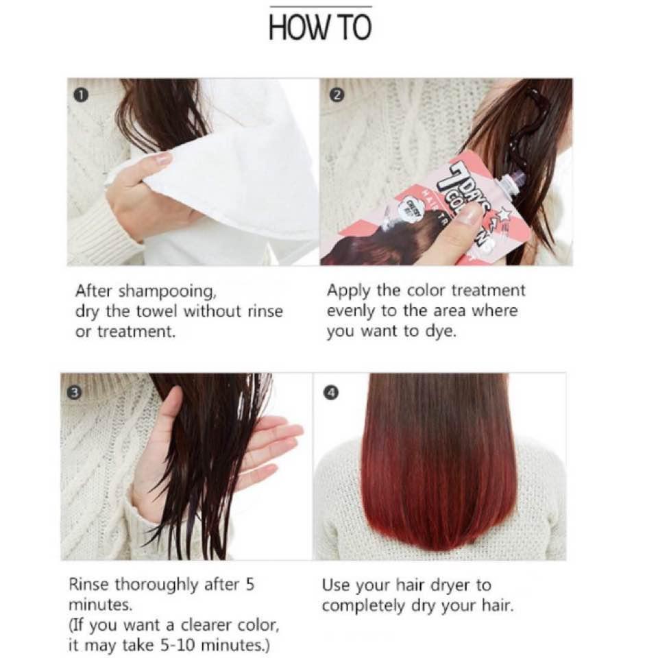 Review: Missha 7 Day Colouring Hair Treatment - jasminekokoro - Dayre