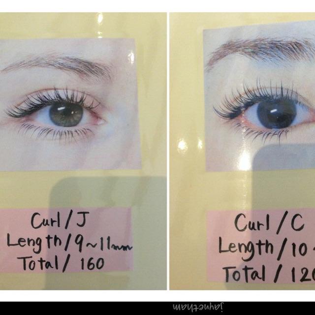 Types Of Eyelash Extensions Curls